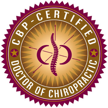 CBP Certified Doctor of Chiropractic Logo